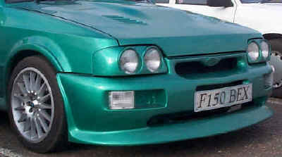 Cosworth style front bumper for Orion